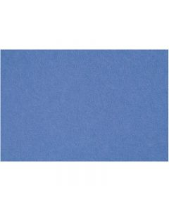 Hobbyvilt, 42x60 cm, dikte 3 mm, blauw, 1 vel