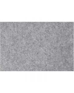 Hobbyvilt, 42x60 cm, dikte 3 mm, grijs, 1 vel