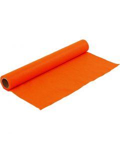 Hobbyvilt, B: 45 cm, dikte 1,5 mm, 180-200 gr, oranje, 1 m/ 1 rol