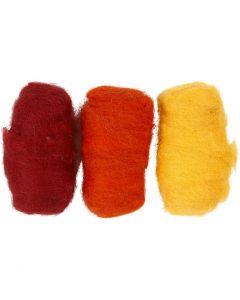 Gekaarde wol, pastel geel (32244), 3x10 gr/ 1 doos