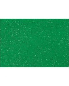Hobbyvilt, A4, 210x297 mm, dikte 1 mm, groen, 10 vel/ 1 doos