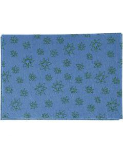 Hobbyvilt, A4, 210x297 mm, dikte 1 mm, blauw, 10 vel/ 1 doos
