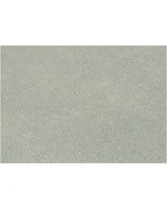 Hobbyvilt, A4, 210x297 mm, dikte 1 mm, grijs, 10 vel/ 1 doos