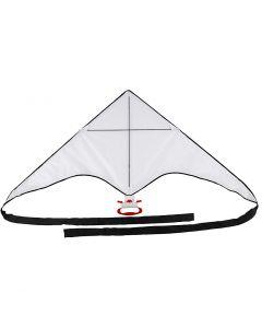 Vlieger, H: 60 cm, B: 130 cm, 1 stuk