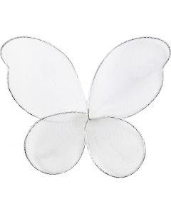 Engelen vleugels, afm 7,5x5,5 cm, 6 stuk/ 1 doos