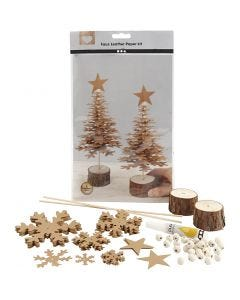 Faux Leather Kerstboom, dikte 0,55 mm, 1 set