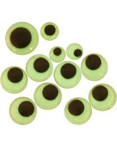 Wiebelogen, zelfklevend, d: 8+10+14 mm, 30 div/ 1 doos