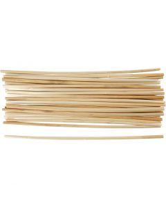 Stro manden, L: 22 cm, dikte 3-5 mm, 50 stuk/ 1 doos