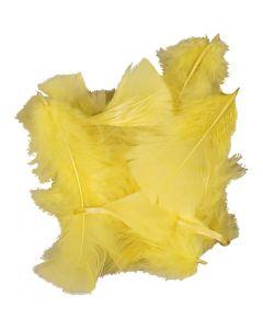 Veren, afm 7-8 cm, geel, 50 gr/ 1 doos