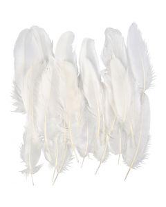 Veren, wit, 70 stuk/ 1 zak