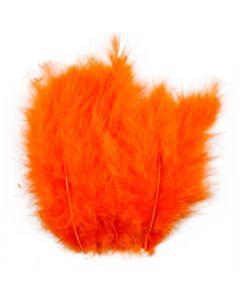 Veren, afm 5-12 cm, oranje, 15 stuk/ 1 doos
