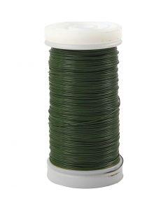 Bloemendraad, dikte 0,31 mm, 100 gr, groen, 160 m/ 1 rol