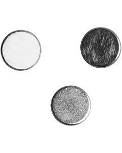 Power magneten, d: 5 mm, dikte 2 mm, 10 stuk/ 1 doos