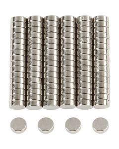 Power magneten, d: 5 mm, dikte 2 mm, 100 stuk/ 1 doos