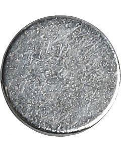 Power magneet, d: 10 mm, dikte 2 mm, 10 stuk/ 1 doos