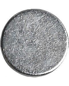 Power magneet, d: 10 mm, dikte 2 mm, 100 stuk/ 1 doos