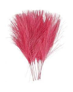 Kunstveren, L: 15 cm, B: 8 cm, roze, 10 stuk/ 1 doos