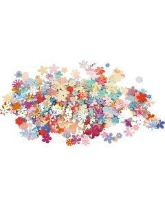 Pailletten, d: 5-20 mm, diverse kleuren, 250 gr/ 1 doos