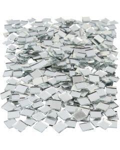 Spiegel mozaiek tegels, afm 10x10 mm, 500 stuk/ 1 doos