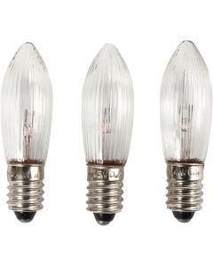 LED lampen, H: 45 mm, d: 15 mm, 3 stuk/ 1 doos