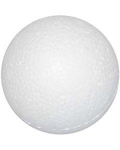 Ballen, d: 3 cm, wit, 100 stuk/ 1 doos