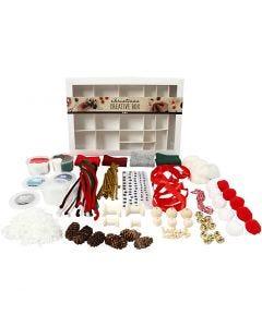 Creative box, Traditionele kerst, 1 set