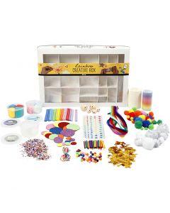 Creative box, Regenboog, 1 set