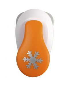 Lever Punch, sneeuwvlok, d: 19 mm, afm S , 1 stuk