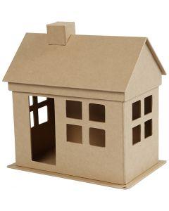 Huis, H: 23 cm, L: 22,5 cm, 1 stuk