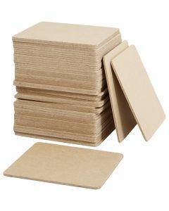 Onderzetters, afm 10x10 cm, 50 stuk/ 1 doos