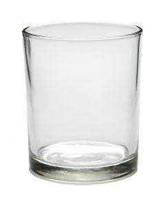 Waxinelicht, H: 8,4 cm, d: 7 cm, 240 ml, 12 stuk/ 1 karton