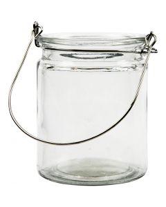 Lantaarn, H: 10 cm, d: 7,6 cm, 2 stuk/ 1 doos