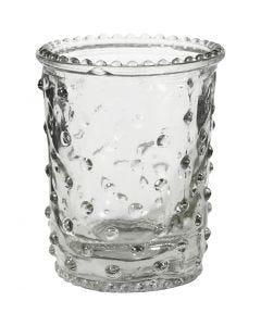 Waxinelicht, H: 7,8 cm, d: 6,4 cm, 100 ml, 6 stuk/ 1 karton