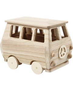 Minibus, afm 17x10x13 cm, 1 stuk