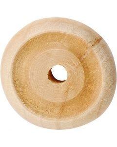 Wiel, d: 24x8 mm, 8 stuk/ 1 doos
