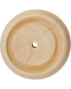 Wiel, d: 50 mm, 4 stuk/ 1 doos