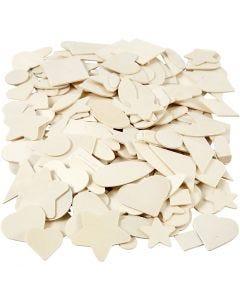 Mozaiek, afm 1,3-5,5 cm, 500 stuk/ 1 doos