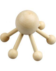 Massage spin, H: 10 cm, B: 13 cm, 1 stuk