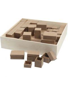 Dozen, H: 2,5-5 cm, 4x15 stuk/ 1 doos