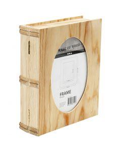 Boek doos, afm 21,7x18 cm, 1 stuk
