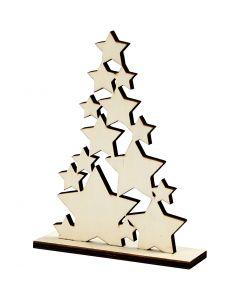 Kerstboom, H: 19,6 cm, B: 14,7 cm, 1 stuk