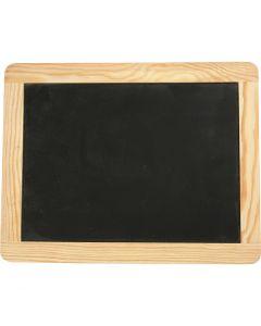 Krijtbord, afm 19x24 cm, 1 stuk