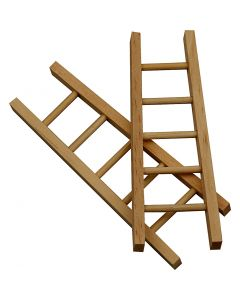 Ladder, afm 10x3,5  cm, 6 stuk/ 1 doos