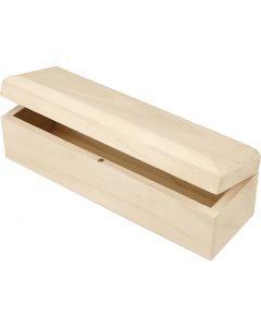 Langwerpige doos, afm 20x6x6 cm, 1 stuk
