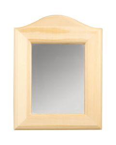 Spiegel, afm 19x27x1,5 cm, 1 stuk
