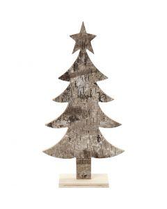 Kerstboom, H: 26 cm, B: 13 cm, 1 stuk