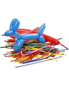 Ballonnen, modelleren, L: 152 cm, 100 stuk/ 1 doos