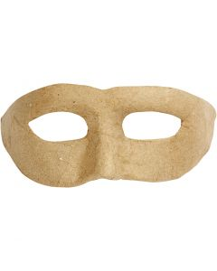 Zorro masker, H: 8 cm, B: 21 cm, 1 stuk