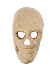 Skelet masker, H: 13 cm, 1 stuk