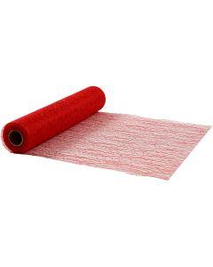 Tafelloper, B: 30 cm, rood, 10 m/ 1 rol
